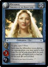 LOTR TCG Galadriel Sorceress of the Hidden Land 13RF2 Lord of the Rings VF FOIL