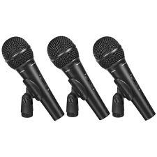 Behringer EXM-1800S Dynamic Handheld Microphone (3-Pack)