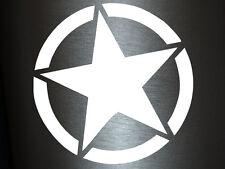 1 x 2 Plott Aufkleber Army Star Special Edition Sticker Military Militär Stern
