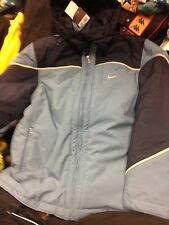 NIKE WINTER COAT IN  NAVY smal or large SIZE  34/36 O4042/44NCH BNWLLONG LENGHT