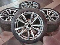 20 Zoll sommerKompletträder für X5 X6 E70 E71 F15 F16 + Reifen 275/40 + 315/35