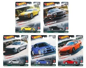 (PRE ORDER ) Hot Wheels Car Culture Modern Classics 3 Complete Set of 5 cars