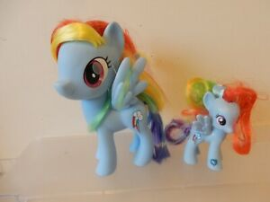 My Little Pony Hasbro G4 Large Rainbow Dash with Foal
