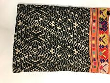 Pottery Barn Pillow Throw Cover Guatemalan Mexican Guatamalen Embroidery