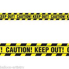 6.1 m CLASSIC Halloween Festa cautela conservare NASTRO Streamer Banner Decorazione