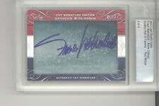 Frank Mahovlich Norm Ullman auto card 4 of 4 2017 Leaf Sports Icons NM Red Wings