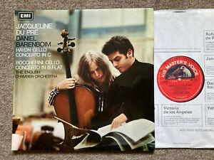 JACQUELINE DU PRE Haydn Boccherini UK HMV ASD 2331   NM