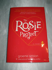 The Rosie Project by Graeme Simsion SIGNED 1st/1st 2013 HCDJ