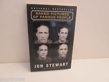 JOHN STEWART NAKED PICTURES OF FAMOUS PEOPLE  SOFTCOVER BOOK PAPERBACK