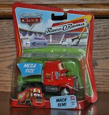 Disney Pixar Cars Mega size Die Cast Mack Semi #3 Red Truck NEW