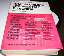 LIBRO ANALISI CHIMICA STRUMENTALE E TECNICA 2° ED. AMANDOLA TERRENI TAMBURINI 70