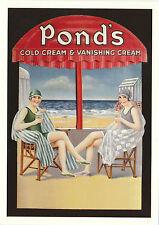 ROBERT  OPIE  ADVERTISING  POSTCARD  -  PONDS'  COLD  CREAM  &  VANISHING  CREAM