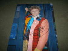 Very Large Colin Baker Dr Who signed photo UACC RD 86