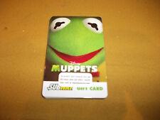 SUBWAY KERMIT THE FROG MUPPETS MOVIE GIFT CARD NO CASH VALUE.
