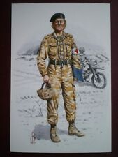POSTCARD ROYAL ARMY MEDICAL CORPS - MEDICAL OFFICER GULF WAR 1991