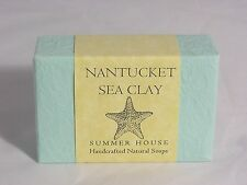 Summer House Handcrafted Natural Soap #Nantucket Sea Clay