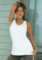 NEU SUMMER BASIC LONG SHIRT TANK TOP 32/34 BOYSENs rosa puder *799554