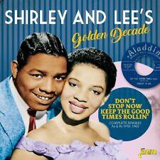 SHIRLEY & LEE - GOLDEN DECADE  2 CD NEU