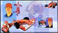 Congo 2006 MNH Imperf MS, Schumacher, Sports, Formula I, Cars,