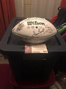 2000 Pro Bowl multi-signed Football w/ PSA COA Hall of Famers