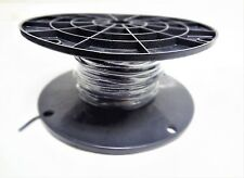 MTW 6 AWG GAUGE BLACK STRANDED COPPER SGT PRIMARY WIRE 200' FT