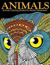 Animal Coloring Books for Adults Relaxation : EXTRA: PDF Download onto Your...