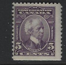 Canada 1927Wilfrid Laurier  #144 5c violet  MNH Fine