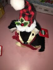 december home dog christmas figurine