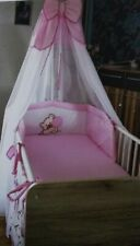 baby nestchen set Babybett Rosa Mädchen Himmel