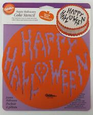 Happy Halloween Round Cake Stencil by Wilton