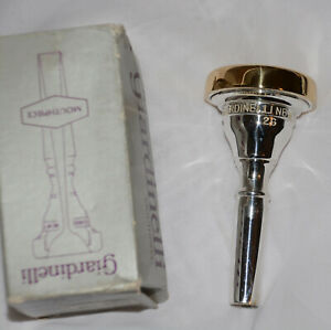 GIARDINELLI 2G Tenor Trb Euphonium small shank  GOLD RIM/CUP  NEW OLD STOCK!!
