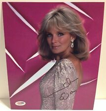 Linda Evans Dynasty Autographed Signed 8x10 Photo PSA/DNA COA