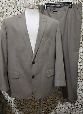 Sean John Men's Light Brown 2 Piece Two Button Suit