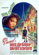 Bing Crosby in EINMAL WIRD DIE SONNE WIEDER SCHEINEN Originalplakat von 1953