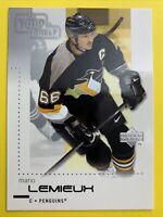 2001-02 Upper Deck Top Shelf #71 Mario Lemieux Pittsburgh Penguins