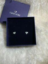 NWB l Swarovski Crystal Diamond Stud Earrings