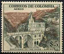 Colombia 1954 SG#803, 5p Sanctuary Of The Rocks MNH Cat £17 #D98761