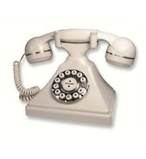 Cetis TeleMatrix Retro Desk Home Telephone Phone Ash Bell Ringer Sound New 26009