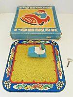 USSR Vintage Tin Wind up Toy SPEED DRIVER ГОНЩИК Original Box