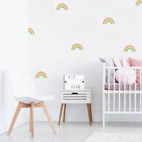 Rainbow stickaround wall stickers | Girls room décor | Wall decals
