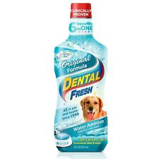 Dental Fresh Original Formula Water Additive for Dogs 8 fl oz
