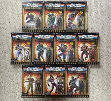 GI Joe 25th Anniversary HALL OF HEROES 2009 Complete Set Lot of 10 MOC MISB