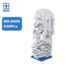 BOYU Architecture Singapore Merlion Stone Diamond Mini Building Nano Blocks Toy