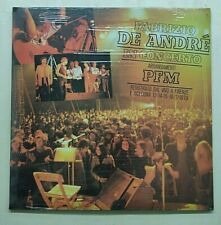 Fabrizio De Andrè – Fabrizio De André In Concerto - Arrangiament 1979 Italy LP