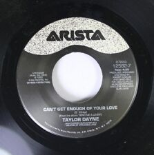 Pop 45 Taylor Dayne - Can'T Get Enough Of Your Love / Let'S Spend The Night Toge