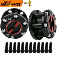 2x FREE WHEELING HUBS FOR HOLDEN RODEO JACKAROO COLORADO ISUZU D-MAX 17 spline