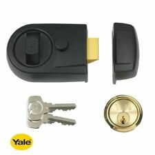 for Use with Surface Moun  New Boxed Yale P-1109-CH Replacement Rim Cylinder