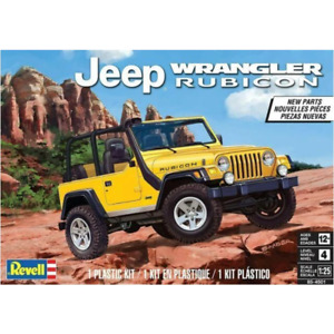REVELL 1/25 Jeep Wrangler Rubicon Special Release