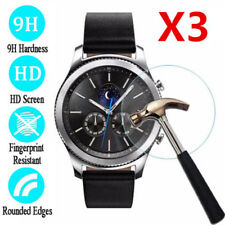 3x Tempered Glass Skin Screen Protector Film For Samsung Galaxy Gear S2 S3 Watch