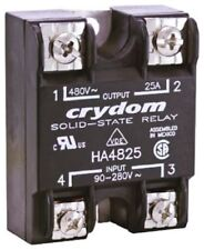 Crydom HD4890-10 90 A Solid State Relay, Instantaneous, Panel Mount SCR
